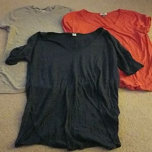 Lot of 3 Old Navy tees, size L